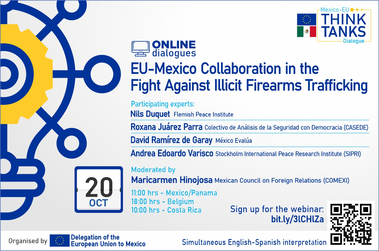 Webinar - EU-Mexico Cooperation in the fight against illicit arms trading (Nils Duquet)