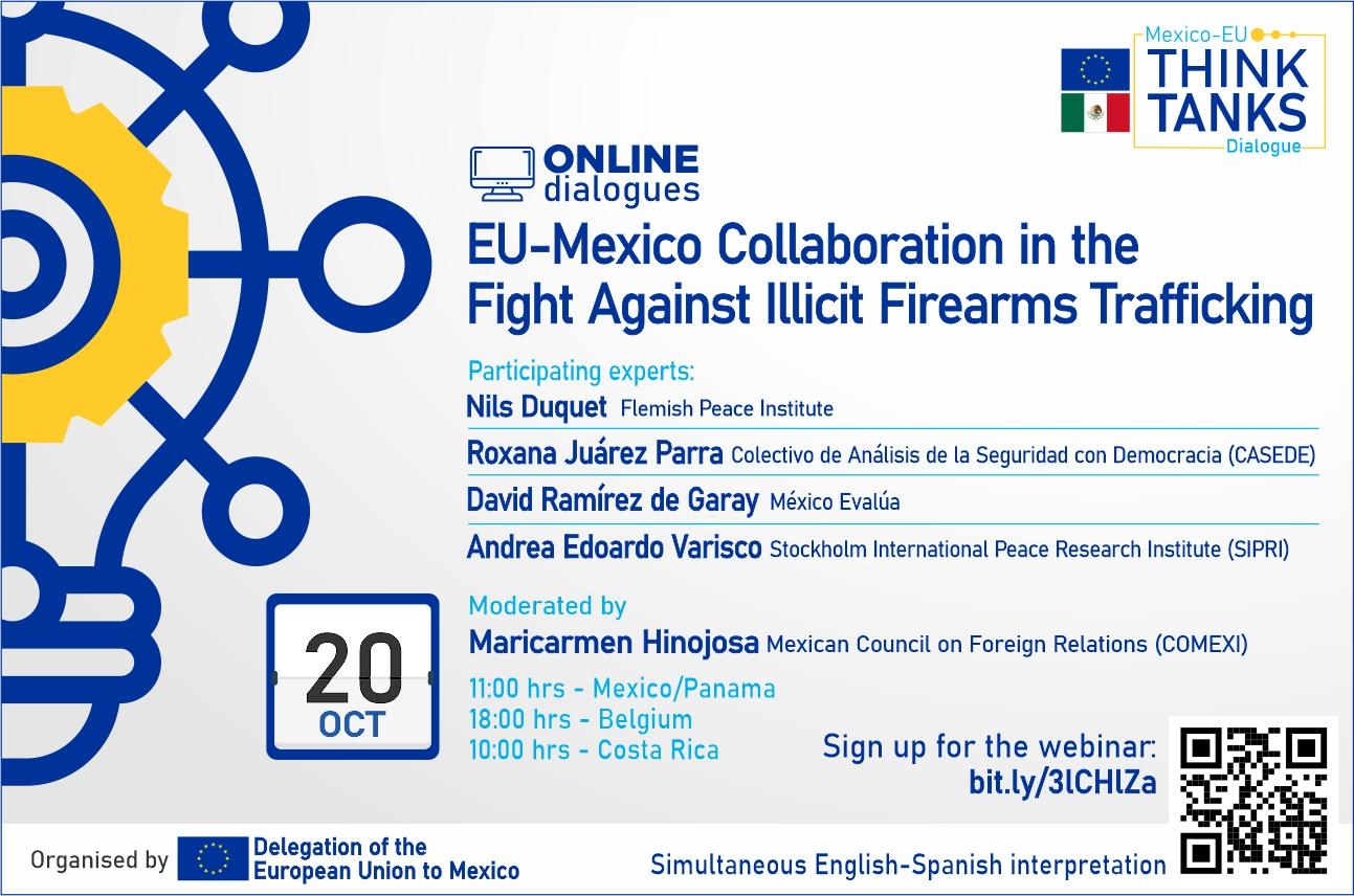 Webinar - De samenwerking EU-Mexico in de strijd tegen illegale vuurwapenhandel (met Nils Duquet)