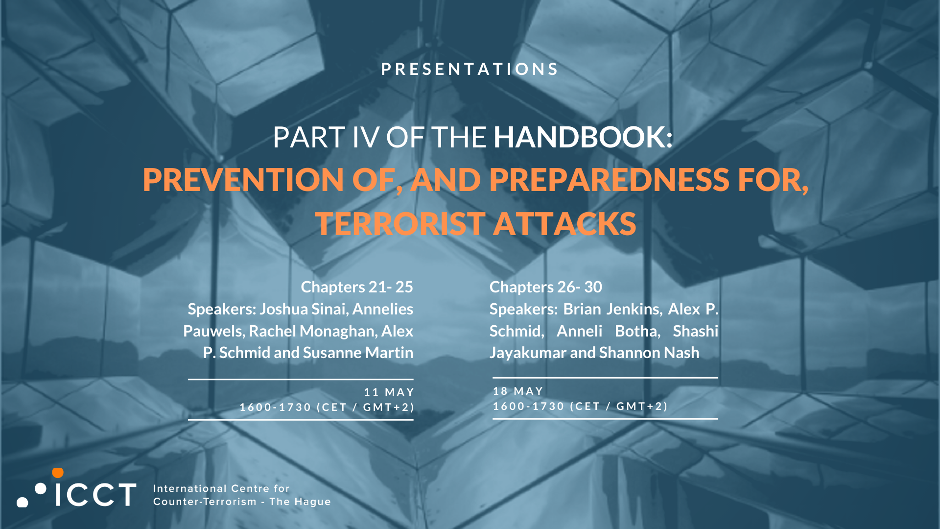 ICCT Live Briefing (with Annelies Pauwels): use of weapons by lone actor terrorists in Western Europe
