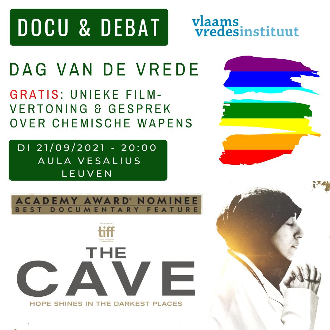 Dag van de Vrede 2021: DOCU & DEBAT: Chemische wapens, Syrië & wat Vlaanderen kan doen